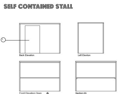 Self Contained Stall
