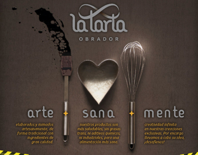 LA TARTA. Art direction