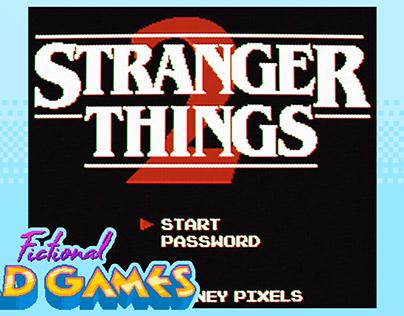 Fictional Bad Games - Stranger Things 2