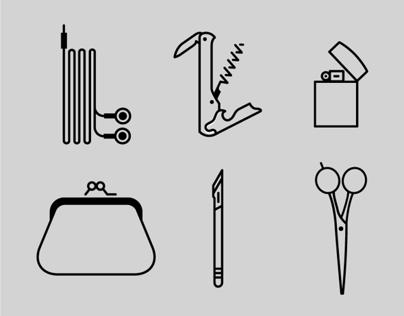 Icon Set: Pocket Pictograms
