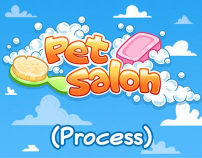 Pet Salon Mobile Game - Process