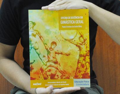 Book Cover Illustration - Oficina de Ginástica