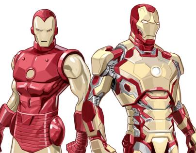 Ironman antes y después