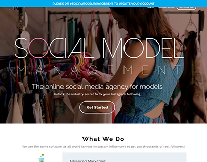 Social Model Management Coupons