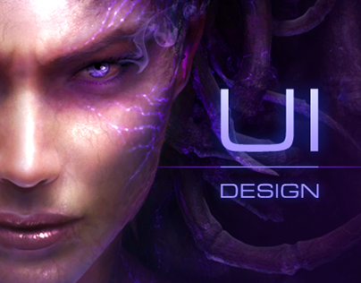 Heart of the Swarm: UI Design & Art