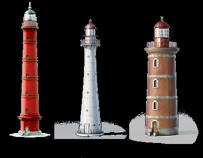 Estonian Historic Lighthouses