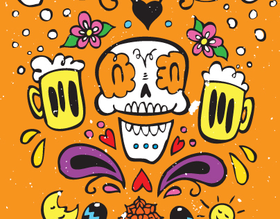 Day of the Dead Beer Tap