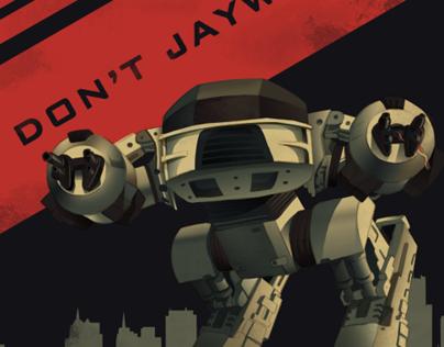 Don't Jaywalk poster