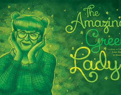 The Amazing Green Lady
