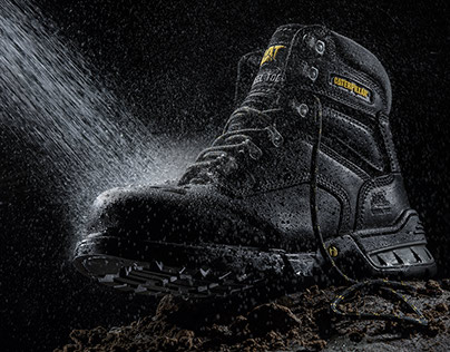 Caterpillar Shoes - Advertising Photography