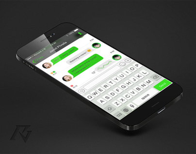 WeChat for iOS7 UI design
