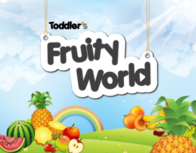 Toddler's Fruity World | عالم فواكه الأطفال