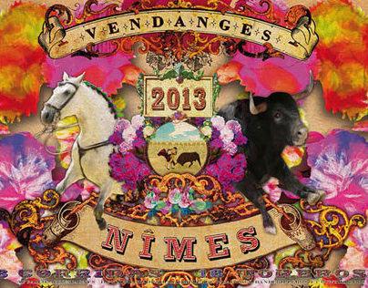 Affiches VENDANGES NIMES 2013