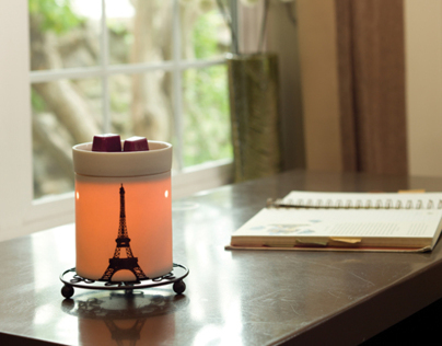 Scentsy Styled Product Photography