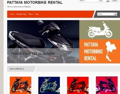 Vehicle Rentals Website - With Management of Vehicles