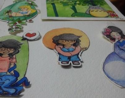 Watercolors!!!!