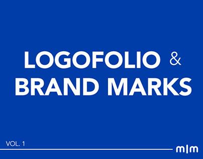 Logofolio & Brand Marks I Vol.1