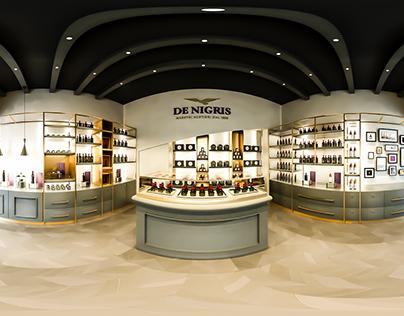 De Nigris: 3D model & render - Rebranding by CBA Design