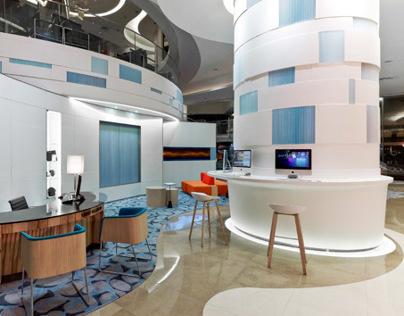 Novotel Century Hotel Lobby