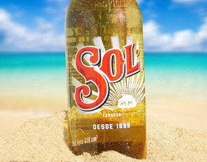 Fotoproducto cerveza Sol