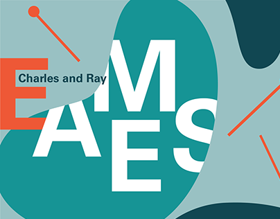 Charles and Ray Eames Lecture Poster