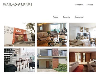 Marcela Wandenkolk | Escritório de Arquitetura | Site