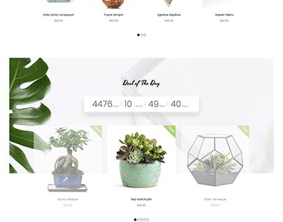 Plant &Flower Shop eCommerce HTML Template - Plantmore
