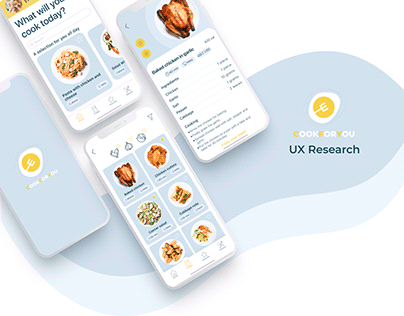 UX Case Study - CookForYou app