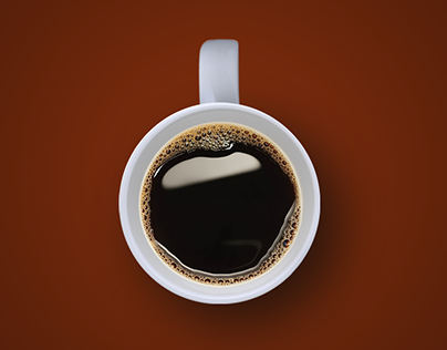 Coffee advertisement