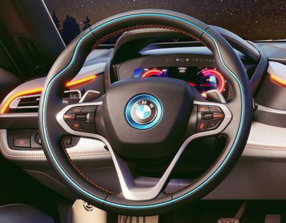 CGI Product Visualization - BMW i8