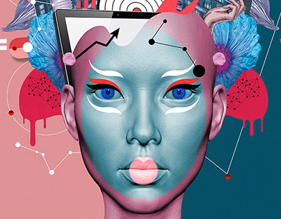 WORK FUTURES | Visual identity concept no 1.