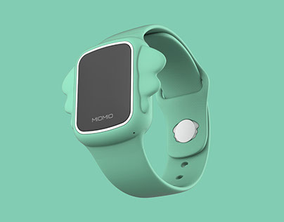 Smart kids watch industrial design