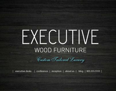 Executive Wood Furniture