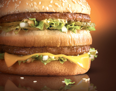 """""""Think With Your Mouth"""" - Big Mac Campaign"""
