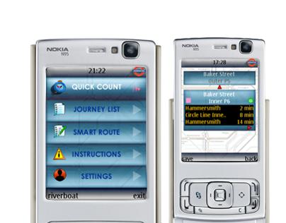Transport for London - Mobile App for Java ME Phones