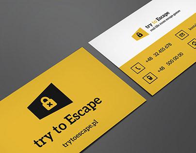 Projekt wizytówki i logo