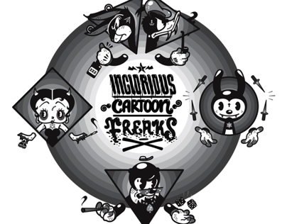Inglorious Cartoon Freaks