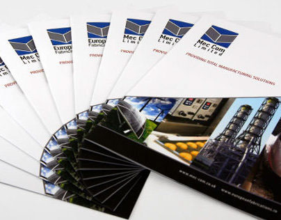 Mec-Com Brochure and Website