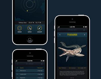 Ancient Seas | App Concept