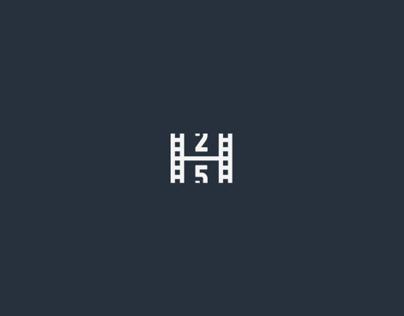 25 EPS logo design