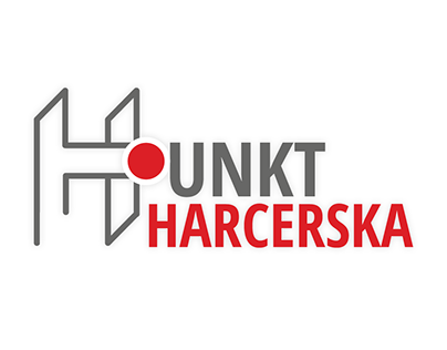 Harcerska Point logo design