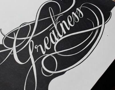 Hand lettering since Nov 2012 -  Dec 2013
