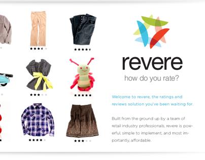 Revere Website Redesign