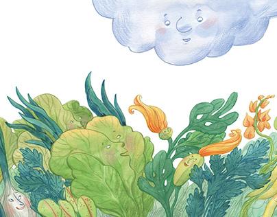 book illustration / watercolor