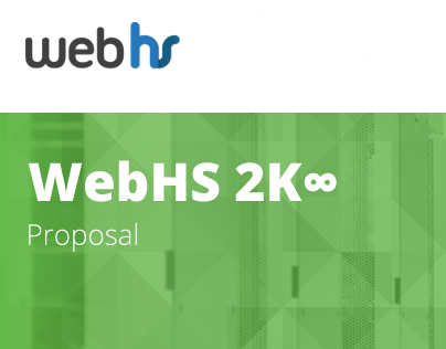 WebHS Website - Redesign Proposal