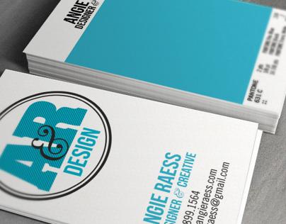 A&R Design Business Cards