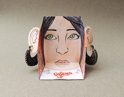 Viana earrings
