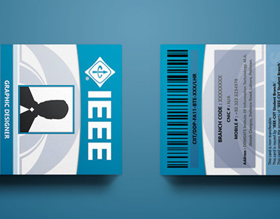 IEEE CIIT LHR - Executive Committee Cards