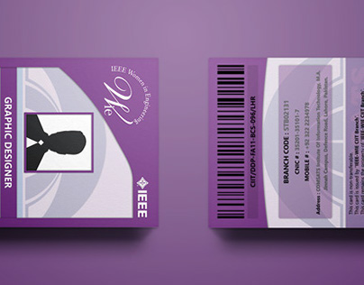 IEEE-WIE CIIT LHR - Executive Committee Cards