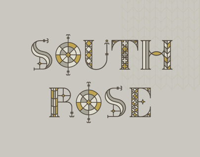 South Rose + Free Typeface